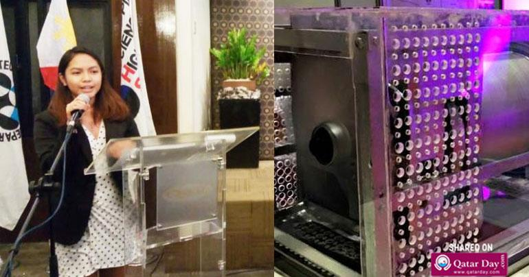 Air conditioner without refrigerant: This Filipina, 19, could revolutionise your AC