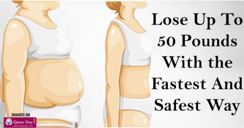 The Quickest and Healthiest Way to Lose Over 50 Pounds