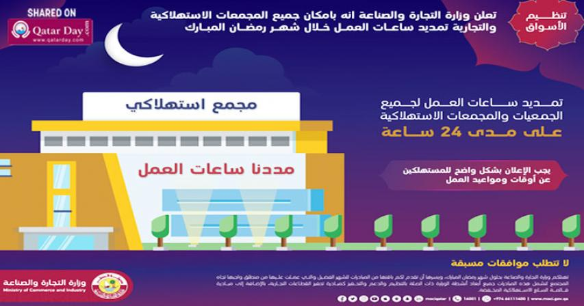 Shopping  Malls, retail outlets can extend working hours throughout Ramadan without approval : MoCI