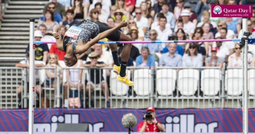 Qatar's Mutaz Barshim finishes 2nd at London Diamond League