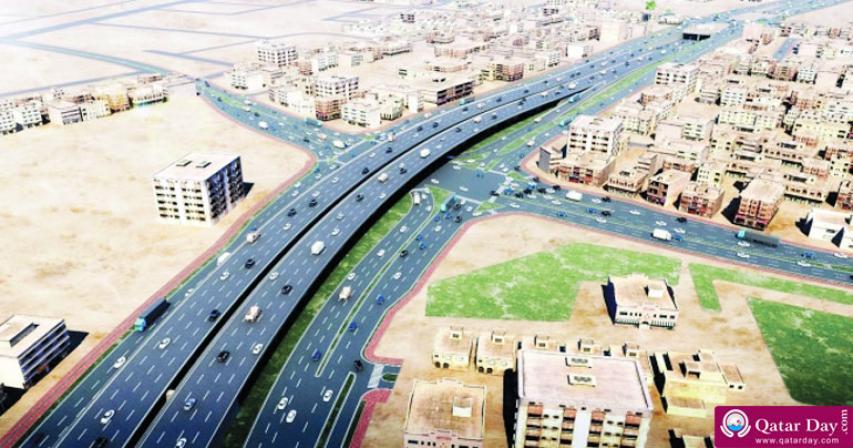 Ashghal Opens Friday 850m New Bridge Partially on Sabah Al Ahmad Corridor