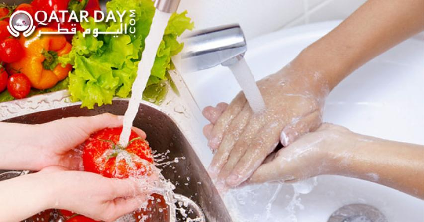Make sure you are hygienic while preparing food to avoid food poisoning and food-borne illnesses