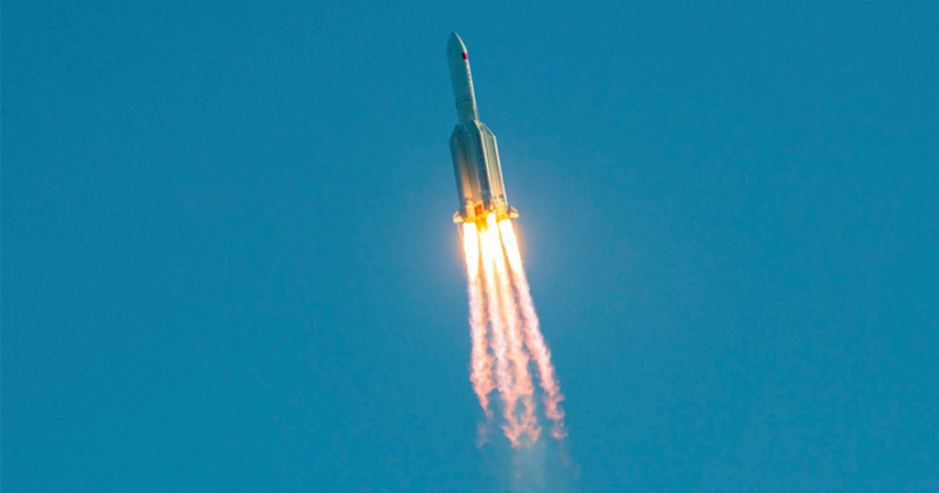 Chunk from China's failed rocket missed New York City by MINUTES