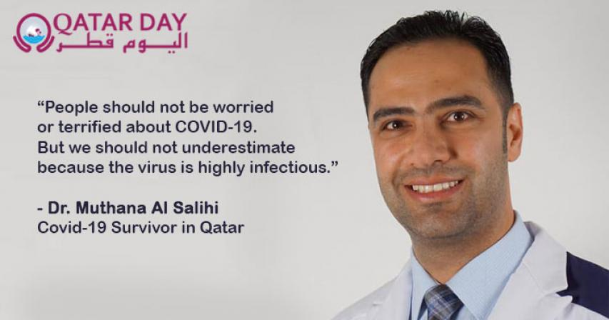 Doctor who recovered from COVID-19 in Qatar says, 'Don't panic, but stay safe'