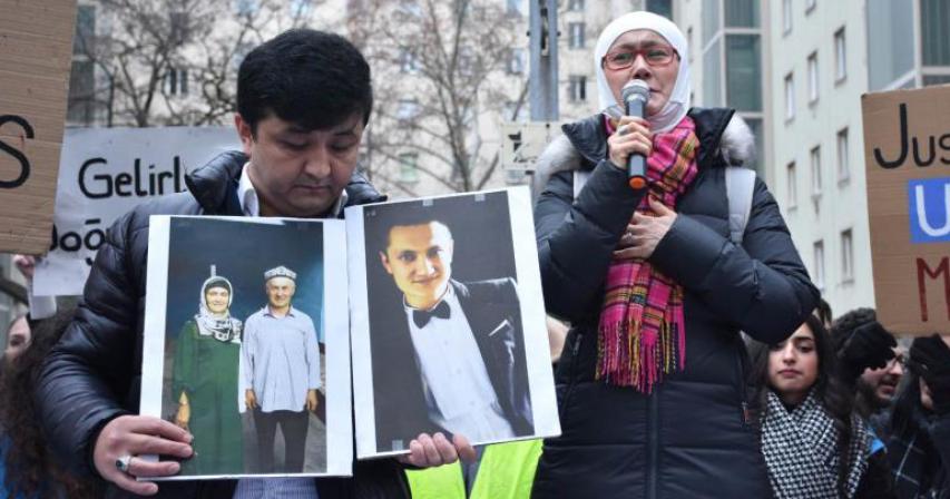China sentences Uighur Muslims in 'sham trials' for 'praying, wearing a headscarf, having a passport'