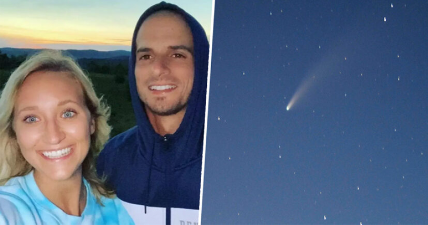 Couple Got Engaged Under Rare Comet That's Only Visible Every 6,800 Years