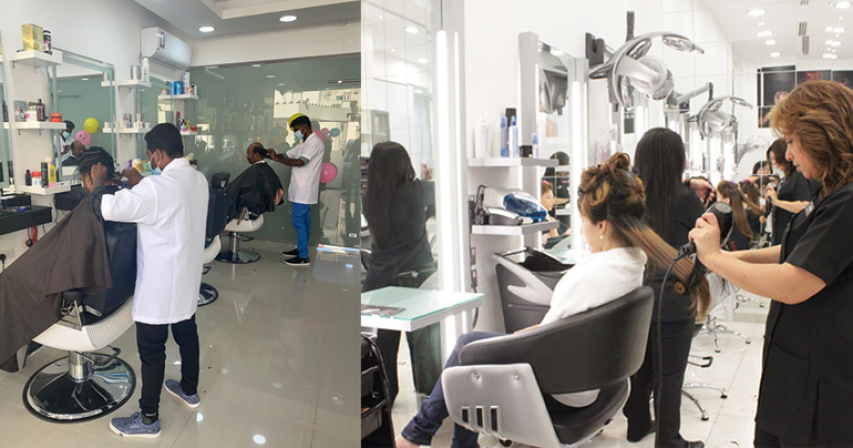 Saloons and beauty centres to resume operations tomorrow