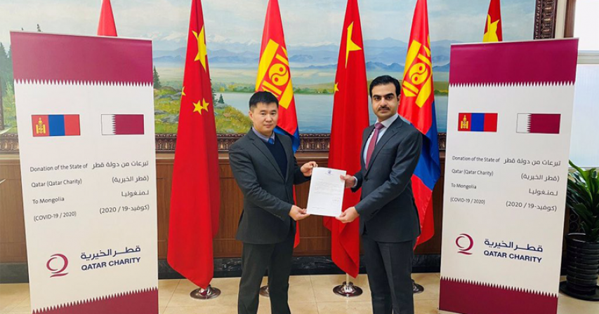 Qatar Delivers Medical Aid to Mongolia