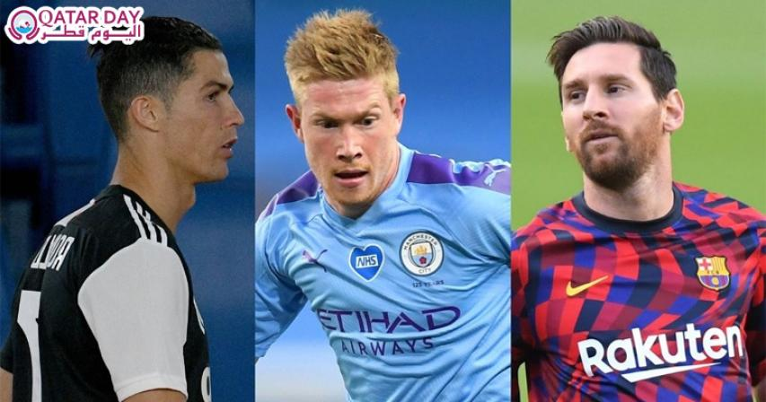 The 50 Best Footballers In The World
