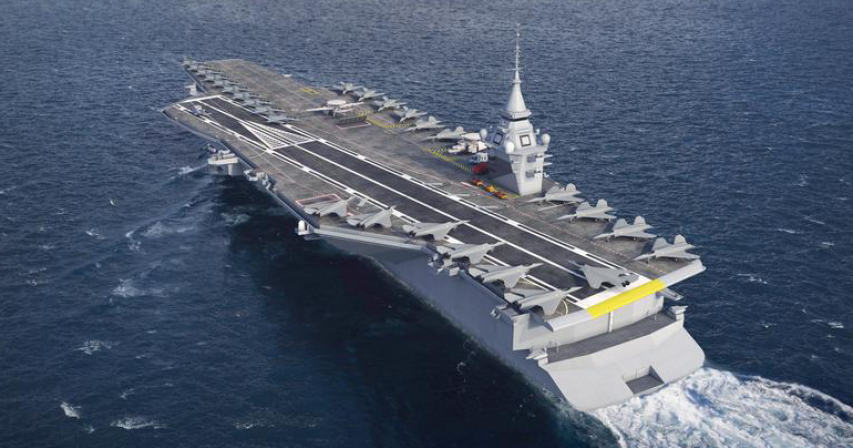 France's next-generation aircraft carrier will be nuclear-powered, says Macron