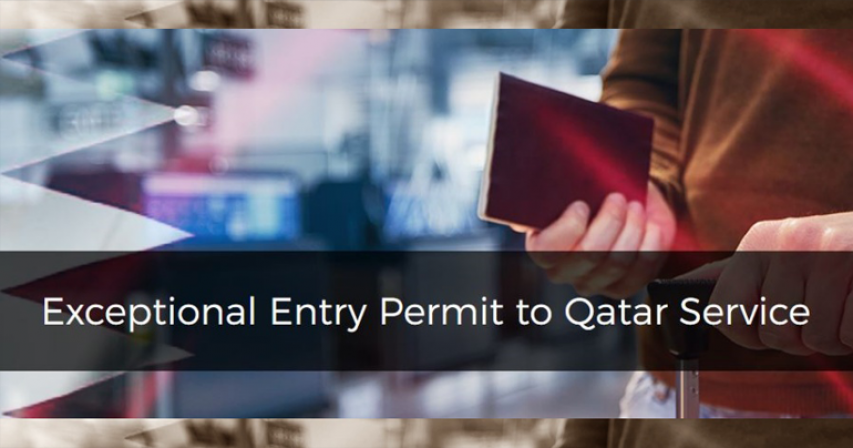 Residents can print 'exceptional return permit'