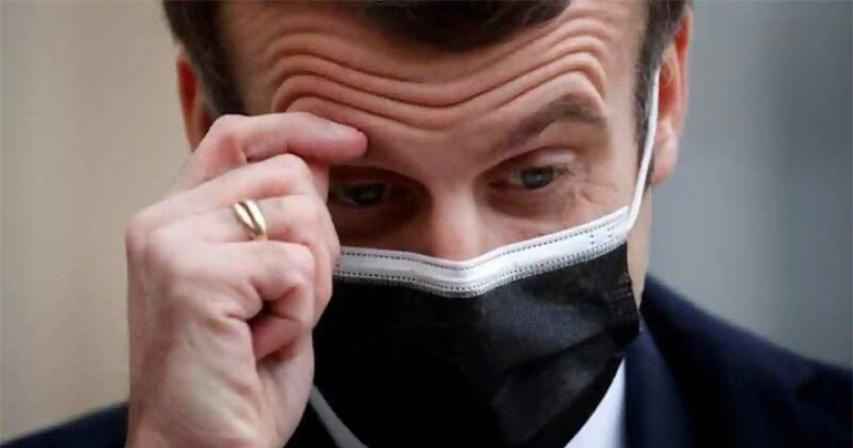 Emmanuel Macron Tests Positive For COVID-19