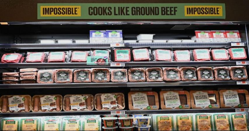 Meatless meat is going mainstream. Now Big Food wants in.