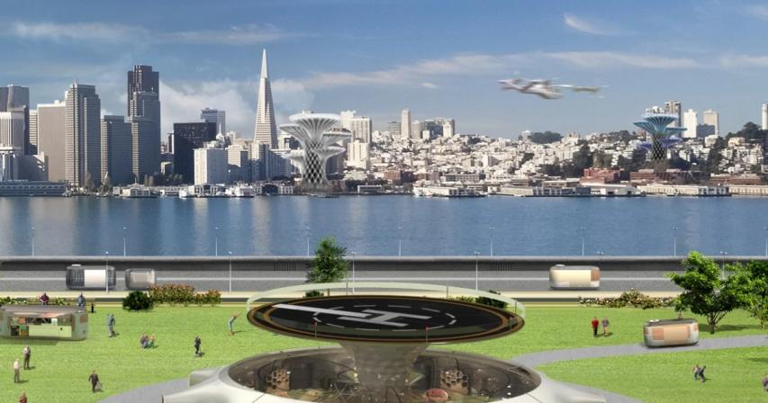 Flying cars airport of the future to land in England