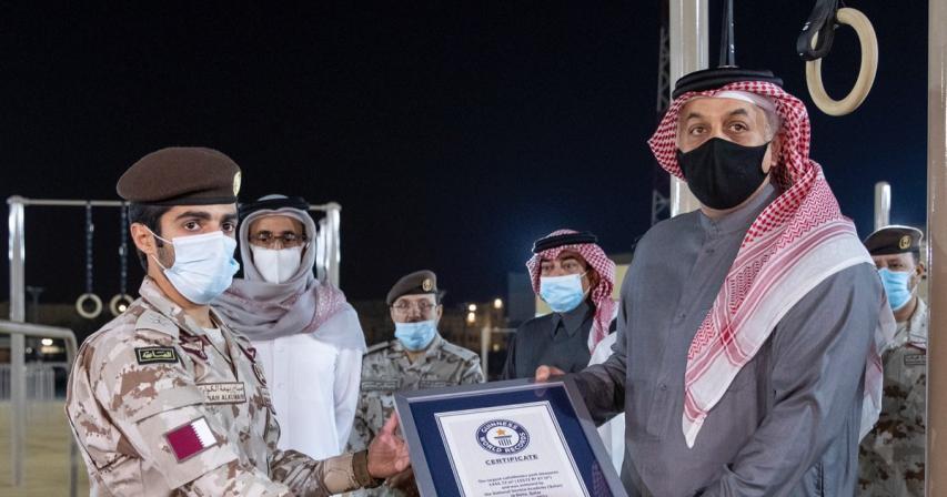 World's largest callisthenics 'street workout' park inaugurated in Qatar