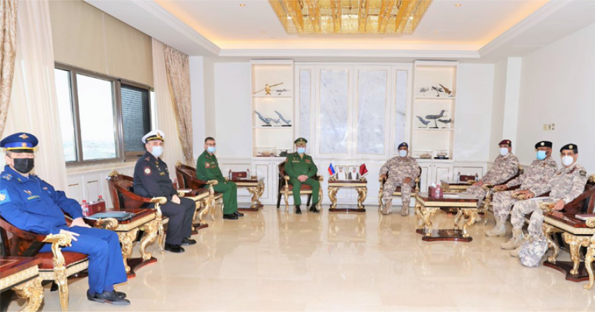 Chief of Staff Meets Deputy Head of Combat Training Directorate of Russian Armed Forces