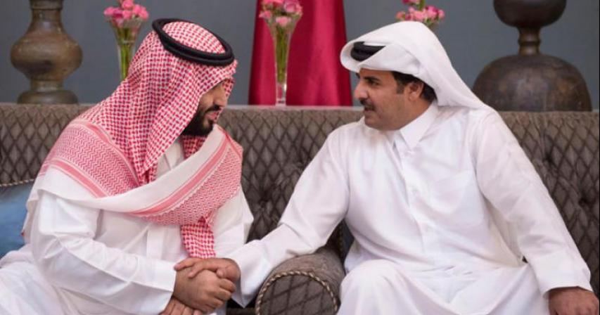 Qatar Emir calls Saudi Crown Prince; stresses Gulf unity