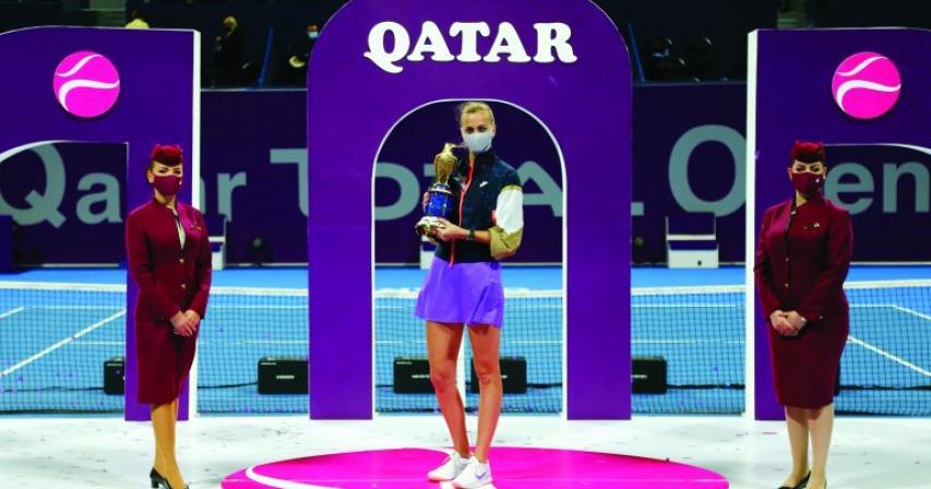 QA and QDF conveys congratulatory message to WTA champion Petra Kvitova