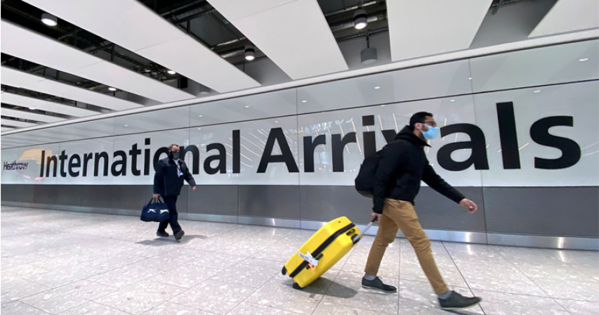 Travelers from Qatar, Oman, Somalia will no longer be able to enter UK from Friday
