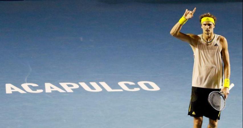 Zverev overcomes quake, Koepfer to reach Acapulco final