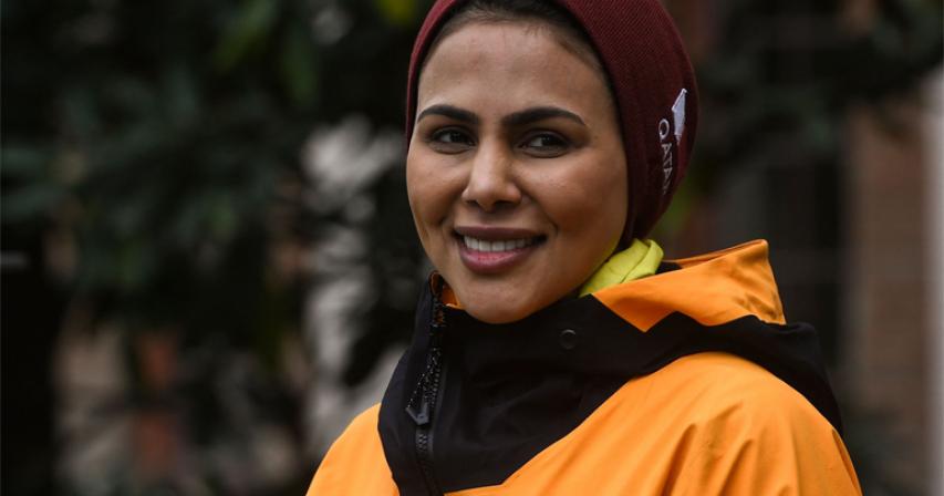 Qatar royal 1st Mideast woman eyeing 'Explorers Grand Slam' record