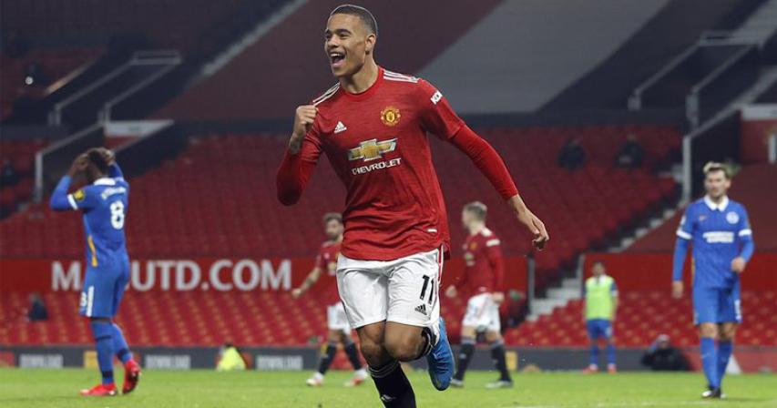Greenwood strikes as Man United fight back to beat Brighton