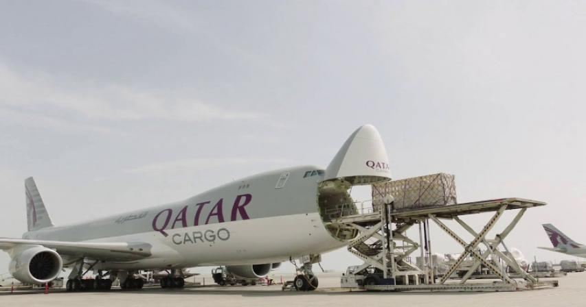 Qatar Airways Cargo transports huge bulk of Covid-19 vaccines to Qatar