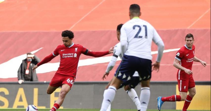 Late Alexander-Arnold strike earns Liverpool 2-1 win over Villa