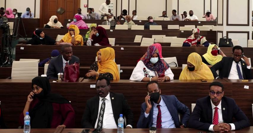 Mogadishu police chief suspends Somali parliament, gets fired moments later