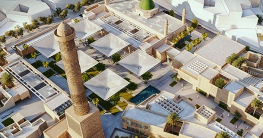 Mosul landmark mosque to be rebuilt by Egyptian architects