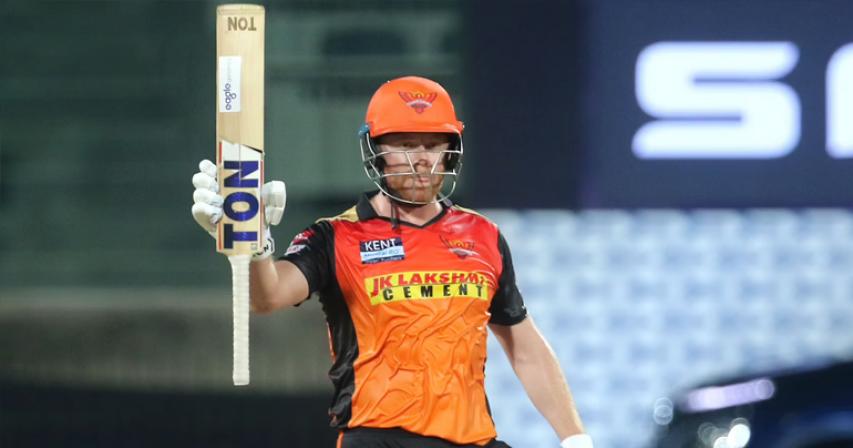 Jonny Bairstow hits fifty as Sunrisers earn first IPL win of 2021 season over Punjab Kings