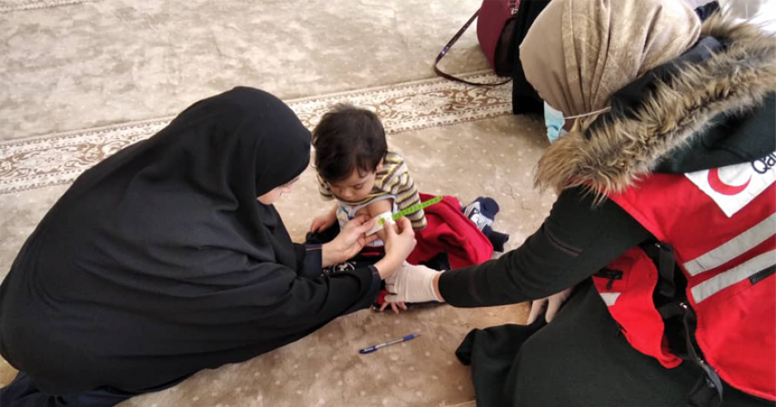 QRCS Expands Lifesaving Preventive and Therapeutic Nutrition Services in Northern Syria