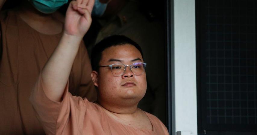 Thai protest leader hospitalised after 46-day hunger strike