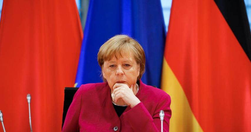 Merkel wants Europe, United States to aim for new trade deal