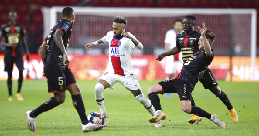 PSG title chances dented by 1-1- draw at Rennes