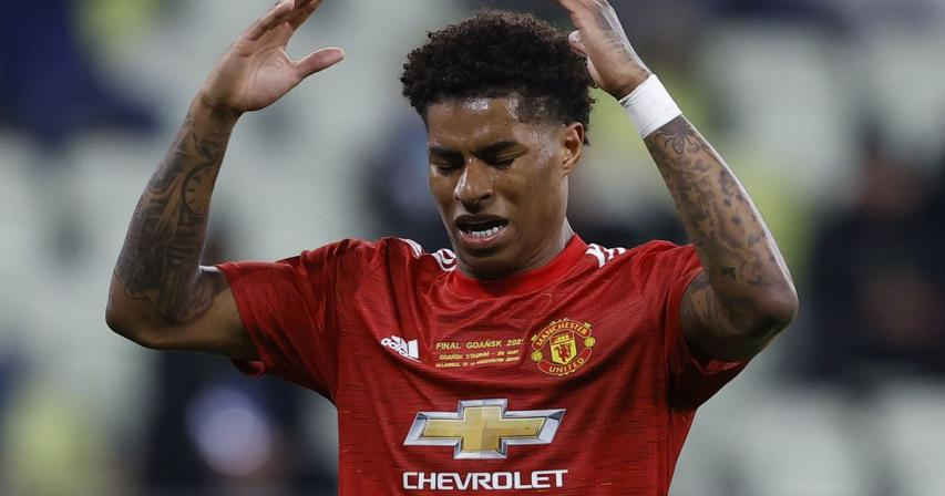 Rashford receives barrage of racial abuse online after Europa loss