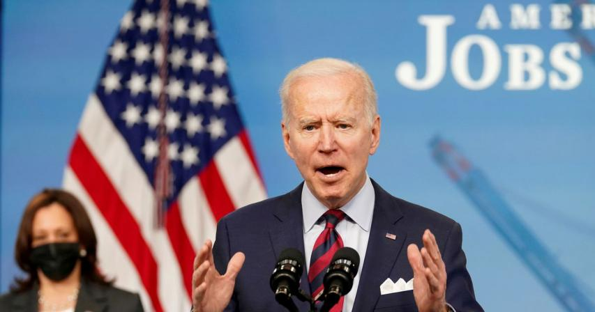 Biden to push $6 trillion U.S. budget for next fiscal year -NYT