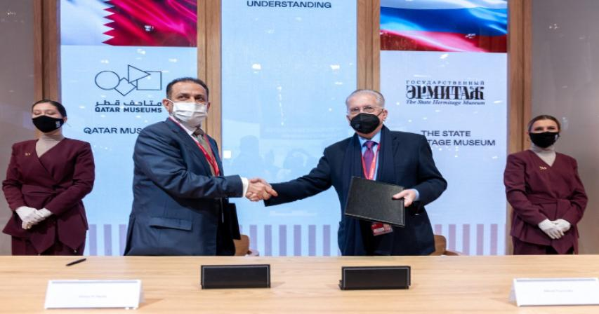 QM Signs Two Agreements With Russian Ministry of Culture and Hermitage Museum