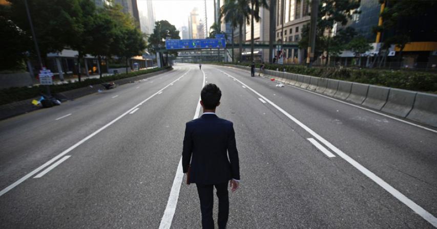 Hong Kong devolving into economic monoculture