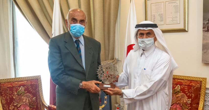 QRCS Strengthens Ties with Al Quds Fund and Endowment