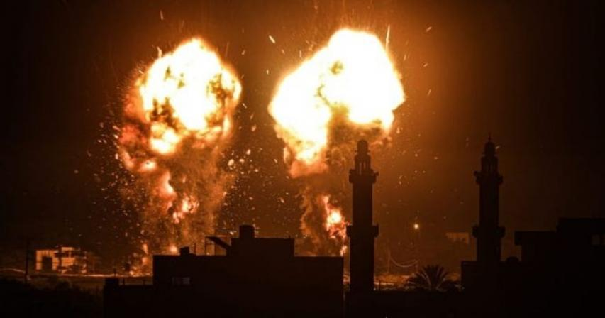 Israel strikes in Gaza after fire balloons launched