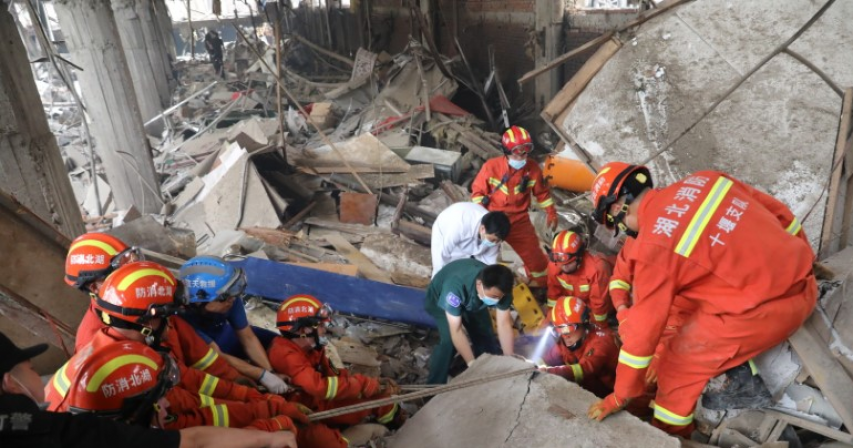 Police detain 8 employees of China Gas unit after deadly pipeline blast