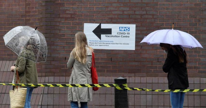 Britain reports 14 new COVID deaths, 10,321 cases