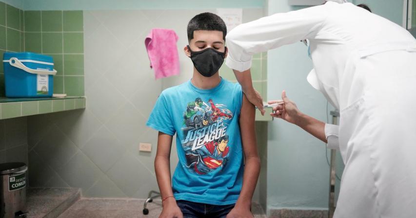 Cuba begins coronavirus vaccine trials on children