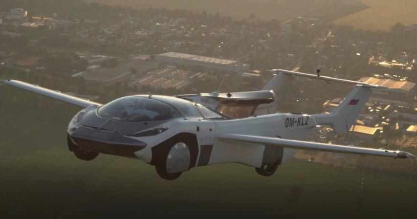 Flying car completes test flight between airports