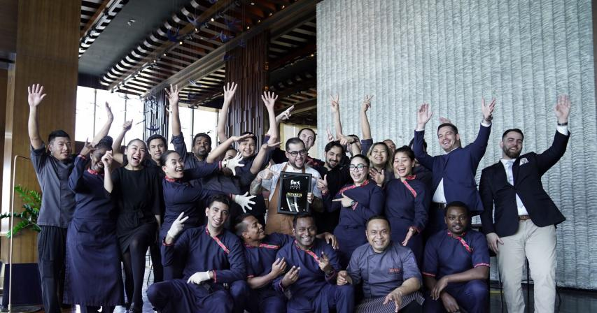 Alfardan Hospitality celebrates its outstanding success at the Fact Dining Awards 2021