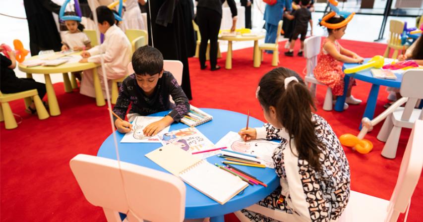Mall of Qatar hosts drug awareness art exhibition organized by AL- Jumeliyah Youth Center