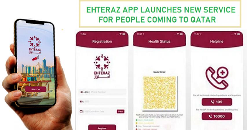 Ehteraz App, Pre-Registration System, Ehteraz, Qatar, Qatar Ehteraz, Qatar flights, Qatar travels