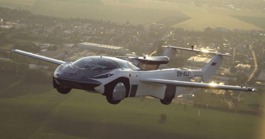 Flying car completes 35-minute test flight between cities