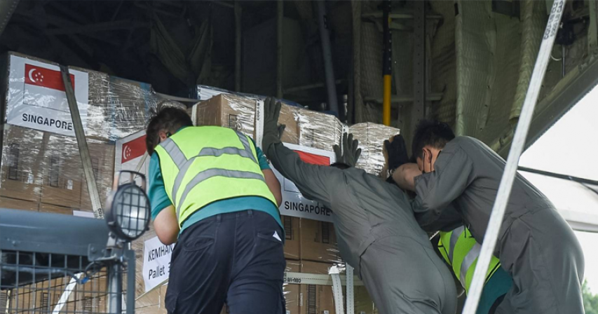 Singapore sends medical supplies, equipment to Indonesia as daily COVID-19 cases hit record